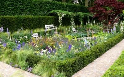 The Daily Telegraph Garden , Karl Försters Senkgarten nachempfunden